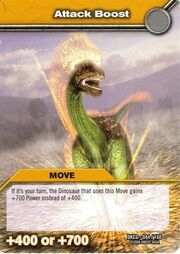 Attack boost TCG Card