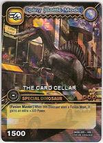 Spinosaurus - Spiny Battle Mode TCG Card 4-DKBD-Collosal