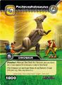 Pachycephalosaurus TCG Card