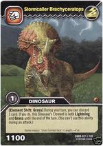 Brachyceratops-Stormcaller TCG Card 1b