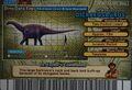 Dicraeosaurus Card Eng S2 4th back