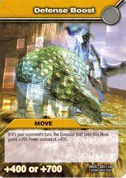 Defense burst TCG Card