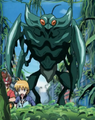 Mantis Monster teal 2