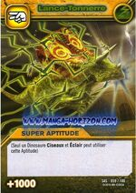 Thunder Bazooka TCG Card 2-Silver (French)