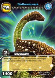 Saltasaurus TCG card