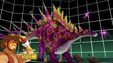 Dinosaur King Arcade Game 恐竜キング - Secret Battle - Super Alpha Kentrosaurus