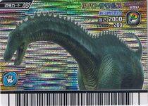 Apatosaurus card