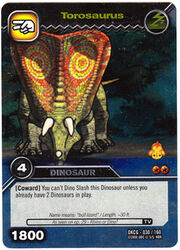Torosaurus TCG Card