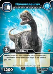 Camarasaurus TCG card