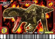 Rajasaurus card