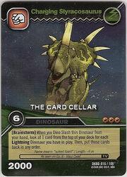 Styracosaurus-Charging TCG Card