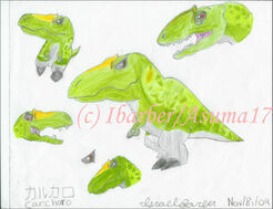 Carcharo the Carcharodontosaur by Asuma17