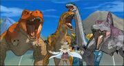Dr. Z and the Alpha Dinos