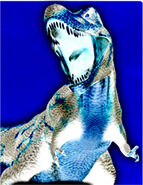 Sky tyrannosaurus