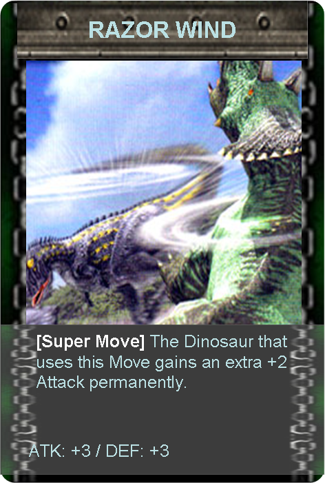 Black Megaraptor Tcg Card