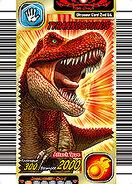 Tyrannosaurus card
