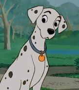 Perdita in One Hundred and One Dalmatians