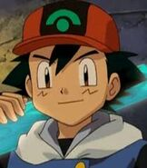 Ash Ketchum in Pokemon Ranger and the Temple of the Sea