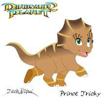 Dinosaur planet prince tricky concept art