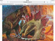 Tyrannosaurus-vs-stegosaurus