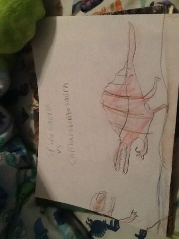 File:Spinosaurus vs carcharodontosaurus.jpg