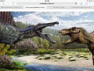 Vs spinosaurus