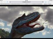 WWD Gorgosaurus head