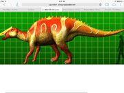 Prosaurolophus size