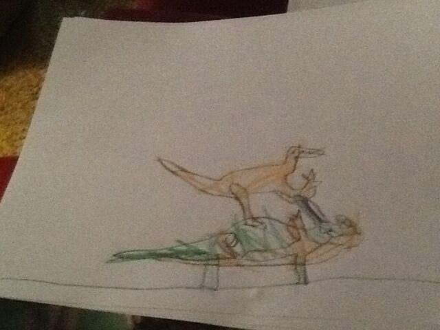 File:Velociraptor vs Protoceratops .jpg