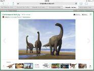 IA Camarasaurus herd