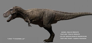 Female t rex