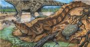 Figura-3-Reconstrucao-artistica-de-Pepesuchus-deiseae-crocodiliforme-de-habitos