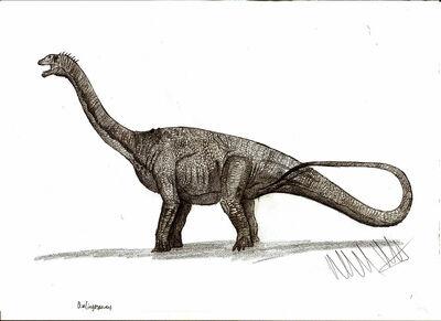 Qinlingosaurus luonanensis by teratophoneus-d4r5xbd