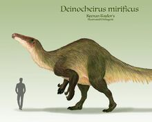 Deinocheirus mirificus by illustratedmenagerie dd4xmcp-pre