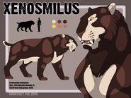 Xenosmilus ref sheet by hellcorpceo dknkcg