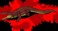 Jurassic park deinosuchus updated 2014 by hellraptor-d1vukt4