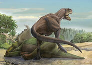 34 Teratophoneus curriei and Kosmoceratops richardsoni