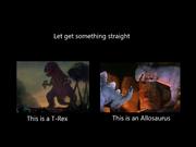 Allosaurus in fantasia false
