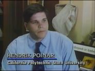 Hendrik Poinar in The Real Jurassic Park