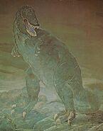 Carnegie-Tyrannosaurus-painting-785x1000