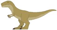 Mlp giganotosaurus by danielarkansanengine d9azxor