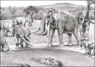 Prehistoric safari interglacial southern europe by jagroar-d6iiizi