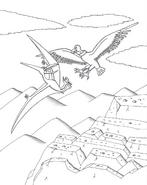 Argentavis vs pteranodon by maleiva d1kol6k