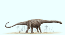 Life recontruction of Argentinosaurus huinculensis