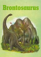 Brontosaurus dinosaur lib series