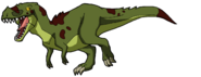 Rolf Maxwell as a Tyrannosaurus rex (DinoSquad)