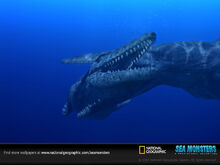 Tylosaurus fight-sw