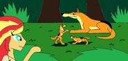 Eg primrodia sunset encounters thylacine by syfyman2xxx dcmejkh