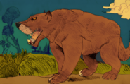 Amphicyon the bear dog by dokuromah dcal56r