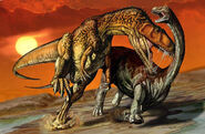 Charcarodontosaurus and aegyptosaurus db